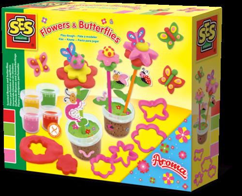 SES - Klei - Geurende Bloemen en Vlinders