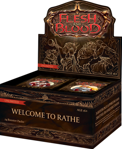 Flesh & Blood TCG - Welcome to Rathe Unlimited Boosterbox