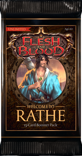 Flesh & Blood TCG - Welcome to Rathe Unlimited Boosterpack