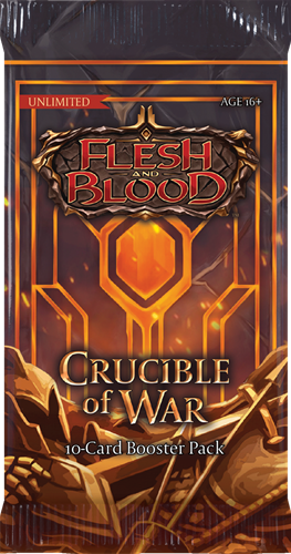Flesh & Blood TCG - Crucible of War Unlimited Boosterpack
