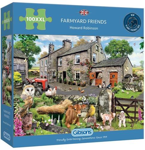 Farmyard Friends Puzzel (100 XXL)