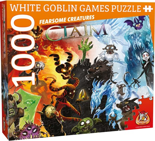 Claim - Fearsome Creatures Puzzel (1000 stukjes)