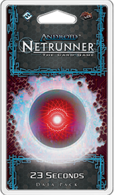 Android Netrunner - 23 Seconds Data Pack