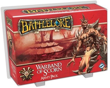 BattleLore 2nd Edition Warband of Scorn Army Pack