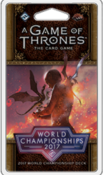 Game of Thrones - World Championship Deck 2017