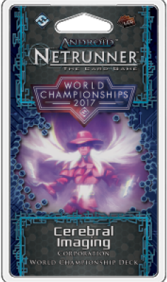 Android Netrunner LCG 2017 World Champion Deck -  Cerebral Imaging
