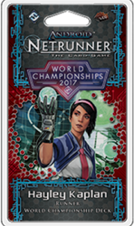 Android Netrunner LCG 2017 World Champion Runner - Hayley Kaplan