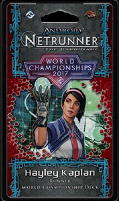 Android Netrunner LCG 2017 World Champion Runner - Hayley Kaplan