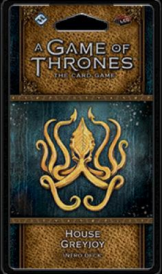 Game of Thrones LCG 2nd House Greyjoy Intro Deck