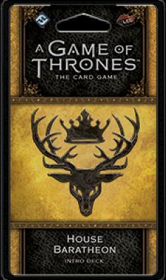 Game of Thrones LCG 2nd House Baratheon Intro Deck