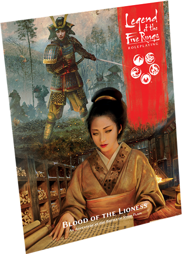 Legend of the Five Rings RPG Blood of the Lioness