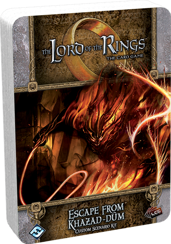 Lord of the Rings LCG - Escape from Khazad-Dum Scen