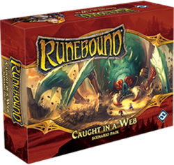 Runebound 3rd Edition - Caught in a Web