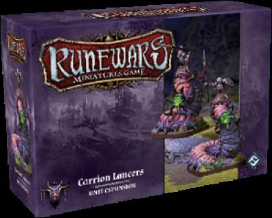 RuneWars - Carrion Lancers Unit