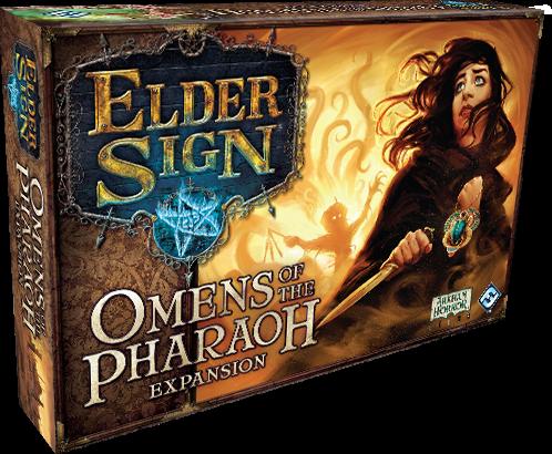 Elder Sign - Omens of the Dark Pharaoh Expansion
