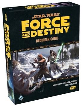 Star Wars Force and Destiny RPG Beginner Game