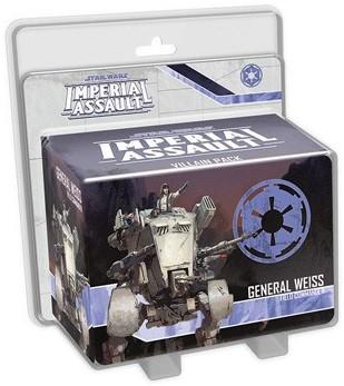 Star Wars Imperial Assault - General Weiss Villain Pack