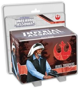 Star Wars Imperial Assault - Rebel Trooper Ally Pack