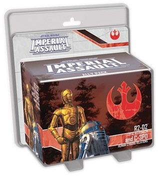 Star Wars Imperial Assault - R2-D2 & C-3PO Ally Pack