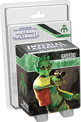 Star Wars Imperial Assault - Greedo Villain Pack