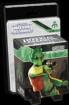 Star Wars Imperial Assault - Greedo Villain Pack