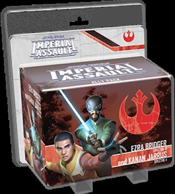 Star Wars Imperial Assault - Ezra and Kanan