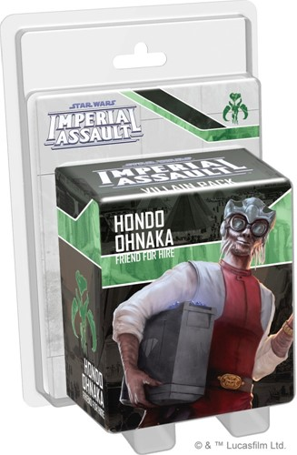 Star Wars Imperial Assault - Hondo Ohnaka