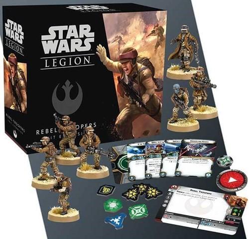 Star Wars Legion Rebel Troopers Unit-2