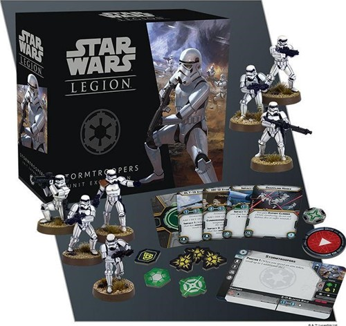 Star Wars Legion Stormtroopers Unit-2