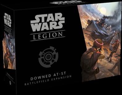 Star Wars - Legion Downed AT-ST Battlefield