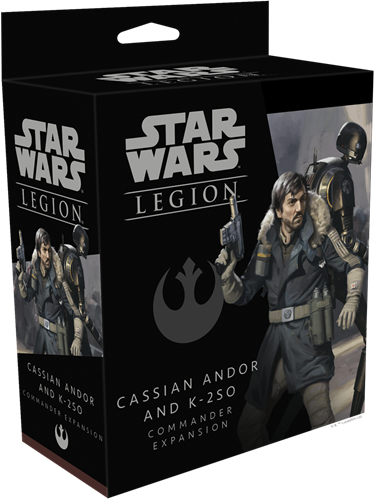 Star Wars Legion - Cassian Andor & K-2SO Commander