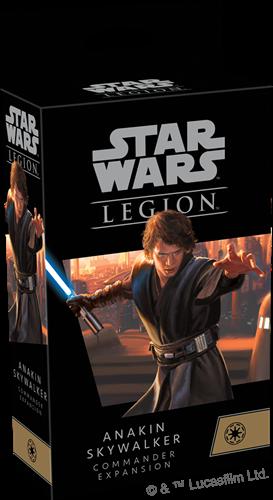 Star Wars Legion - Anakin Skywalker Commander