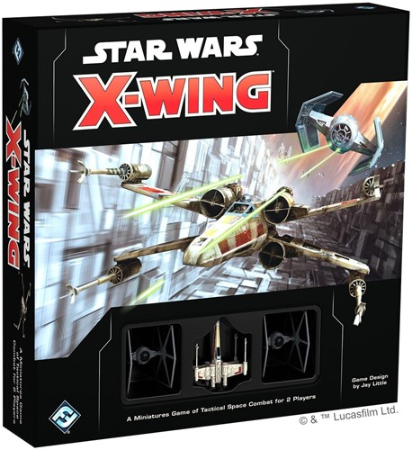 Star Wars X-wing 2.0 Starter Miniatures Game