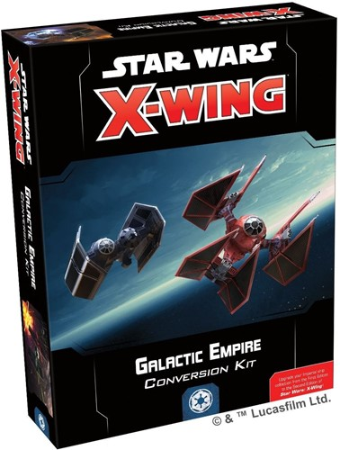 Star Wars X-wing 2.0 Galactic Empire Conversion