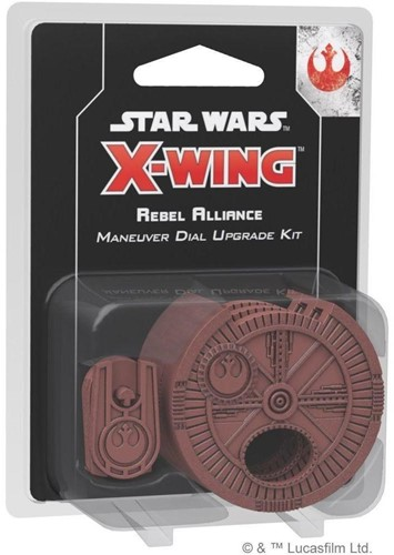 Star Wars X-wing 2.0 Rebel Alliance Maneuver Dial