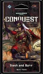 Warhammer 40K Conquest LCG Slash and Burn War Pack