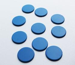 Spel Fiches 22mm Blauw (10 stuks)