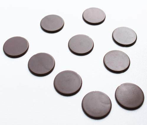 Spel Fiches 22mm Bruin (10 stuks)