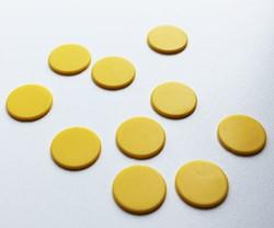 Spel Fiches 22mm Geel (10 stuks)