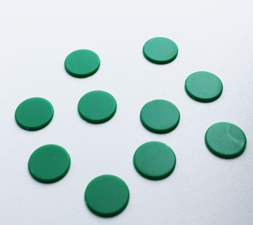 Spel Fiches 22mm Groen (10 stuks)