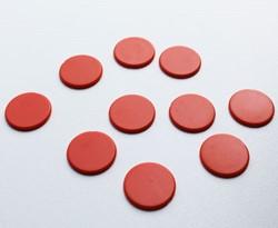 Spel Fiches 22mm Oranje (10 stuks)