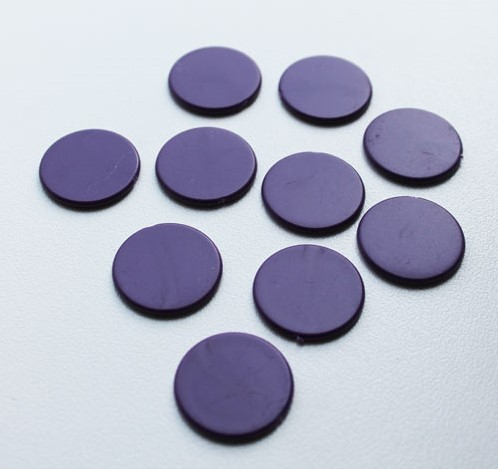Spel Fiches 22mm Paars (10 stuks)