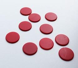 Spel Fiches 22mm Rood (10 stuks)