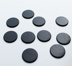 Spel Fiches 22mm Zwart (10 stuks)