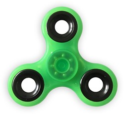 Fidget Spinner - Glow In The Dark - Groen