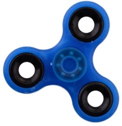 Fidget Spinner - Glow In The Dark - Blauw