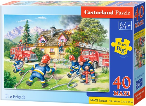 Fire Brigade Puzzel (40 stukjes)