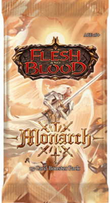 Flesh & Blood TCG - Monarch Unlimited Boosterpack