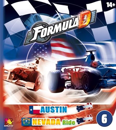 Formula D Expansion - Austin & Nevada Ride Tracks