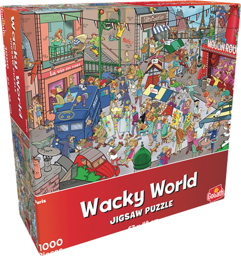 Wacky World - Paris Puzzel (1000 stukjes)